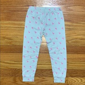 Pink and Blue/Green Flamingo Pajama Pants